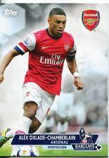 Premier Gold Soccer 13/14 Base Card #4 Alex Oxlade-Chamberlain
