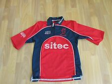 North Gear Sport SOMERSET County CRICKET Club Sitec Shirt CHILD Age 13 / 14