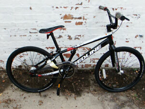New Redline Flight Expert BMX Racing Bike Black