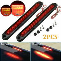 2pcs LED Auto Pkw Lkw Anhänger Rücklicht Blinker Bremsleuchte Lampe Bar 12V 24V
