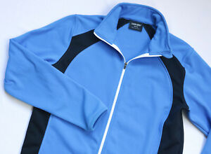 Galvin Green GOLF Insula Fleece Sweater jacket Boys Youth top size 158 164 blue