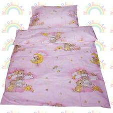 baby BEDDING set crib cot Bears Pink DUVET bumper MOSES BASKET sheet GIRL
