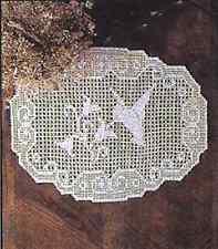 Vintage Crochet Hummingbird Doily PATTERN      NOT FINISHED ITEM