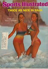 1976 Sports Illustrated Magazine Swimsuit Yvette and Yvonne Sylvander