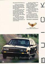 1985 Buick Century Estate Wagon Original Advertisement Print Art Car Ad J863