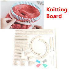 Multi-function Knitting Board Knit&Weave Loom Craft Yarn Kit DIY Scarf Sweater