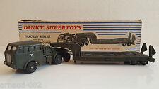 Dinky Toys - 890 - Tracteur Berliet et semi-remorque porte-char en boîte origine