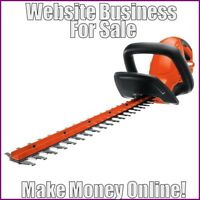 HEDGE TRIMMER Website Earn $34.21 A SALE|FREE Domain|FREE Hosting|FREE Traffic