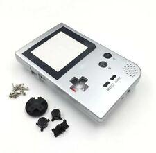 Passend für Gameboy Pocket GBP,Gehäuse Austausch Ersatzteile Silber Housing