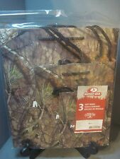 SET OF 3 MOSSY OAK GIFT BAGS  1 SMALL, 1-MED, 1 LARGE IN SET REAL CAMO