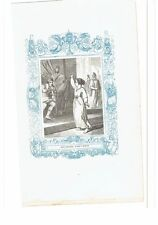 1852 Grabado, Santa Balbina Virgen y Martir