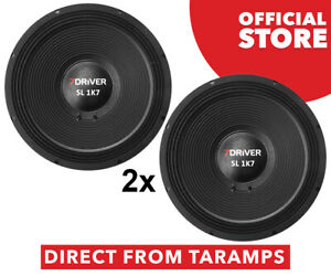 """2x 7Driver 15"""" SL 1K7 8 Ohm Speaker 850W RMS by Taramps Direct From Taramps"""