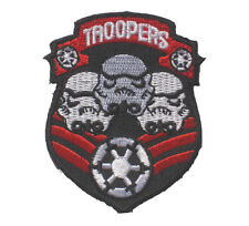 """STAR WARS IMPERIAL STORMTROOPER embroidered Badge Patch 6x7.5 cm 2.25""""x3"""" B"""
