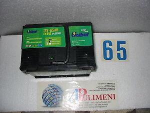 56560 BATTERIA ACCUMULATORI (BATTERIES) UNIBAT  65ah ALFA-ROMEO AUDI BMW CITROEN