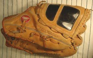 Vintage rare & unique Mizuno MT8000 baseball glove w/sun shade Opti-Web RH throw