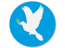 Magnet Aimant Frigo Ø38mm Colombe Paix Peace Frieden Paz Pace