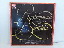 SCHUMANN concerto en la mineur ROSTROPOVICH dir BERNSTEIN 06902841