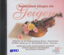 ROMANTISCH klingen die GEIGEN + CD + André Rieu u.a. + Traumhafte Melodien +NEU