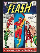 Flash #157 ~ The Day Flash Aged 100 Years ~ 1965 (Grade FN) WH