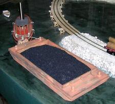 48' x 22' COAL BARGE O On30 Model Railroad Boat Ship Laser Unptd Wood Kit DF606