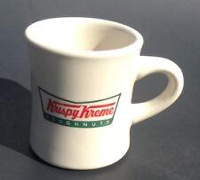 f8cb91d3601 Krispy Kreme Doughnuts Ceramic Coffee Mug Cup Diner Restaurant Style Heavy
