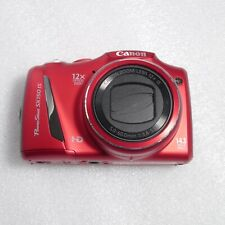 Canon PowerShot SX150 IS 14.1MP 12x Optical Zoom 5-60mm Digital Camera RED HD