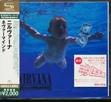 Nirvana  – Nevermind ; Very rare Japanese-only 2009 Super-High Material CD NEW