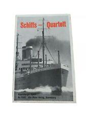 Quartett - Schiffs Quartett / Ravensburger Spiele Nr. 5595