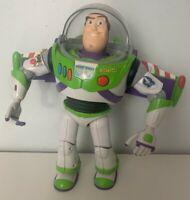 "Buzz Lightyear Toy Story Thinkway Toys Disney Pixar Action Figure Toy 12"" Vtg"
