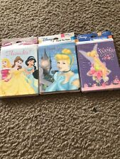 Disney Princess Lot Of Thank You Cards. New