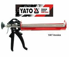 Yato Professional Heavy Duty Silicone Caulk Strengthened Mastic Gun YT-6753