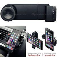 Verstellbar 360 Auto Luft Ausgang Halterung Halterung für Iphone 11 pro Max UK