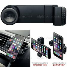 Adjustable 360 Portable Car AirVent Mount Holder Cradle Bracket For iPhone X/XS