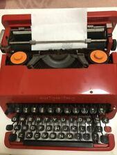 OLIVETTI VALENTINE Vintage Typewriter NO Bucket Case Operation confirmed