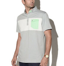 $84.95 Devereux Golf The WELCH Polo XXL 2XL Proper Threads Steel White Sea Green