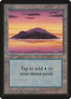 Island (Vers.1) - BETA Edition  - Old School - MTG Magic The Gathering