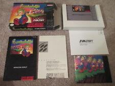 Lemmings (Super Nintendo SNES) Complete CIB - Nice!