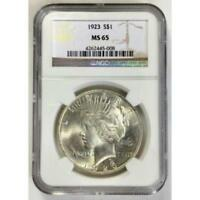 1923 Peace Dollar NGC MS65 *Rev Tye's* #500899