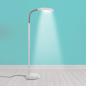 Natural Daylight Floor Lamp - Tall Reading Task Craft Light - 27W Full Spectrum