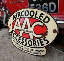 AAC enamel sign Aircooled Accessories enamel sign AAC dealer sign vw porsche age