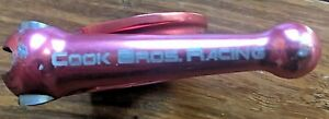 Cook Brothers Racing CBR quick release seatpost clamp collar; 31.8mm of red!
