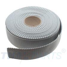 10m Gurtband 40mm Breit - ca. 1,6mm stark - Silbergrau Taschengurt Taschenband