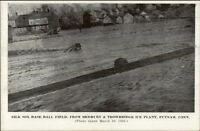 Putnam CT 1936 Flood Postcard #4