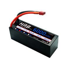 HRB 14.8V 6000mAh 4S LiPo Battery Hardcase 50C-100C Deans for Traxxas X maxx Car