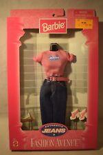 Mattel Barbie Fashion Avenue Authentic Jeans Pants 1997 Nrfb #19179 (c218)