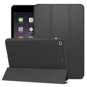 CUSTODIA Integrale per Apple iPad MINI 1 2 3 NERA SMART COVER MAGNETICA e STAND