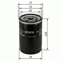 BOSCH ENGINE OIL FILTER OE QUALITY REPLACEMENT 0451103259