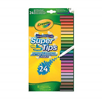 "Vivid Imaginations ""Crayola"" Supertips Craft Pack of 24, Multi-Colour"