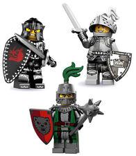 LEGO Minifigures - Series 7/9/15 Evil + Heroic + Frightening Knight  -  New/Mint