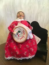 Beyers Choice Mrs. Claus on a Bench 1995 No Box